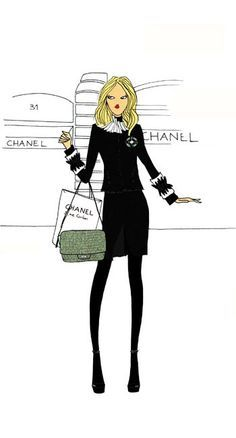 Angeline Melin loves Chanel