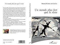UN MONDE PLUS FORT QUE LE RESTE Munesu Mabika de Cugnac  Couverture : huile sur toile de Roberto Mangu