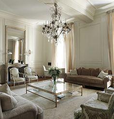 Living room - love the huge coffee table