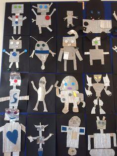 knutselen robot - Google zoeken