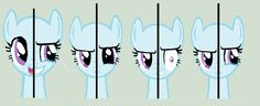 Pony 2 sides base by cutecutederpypony14 on deviantART