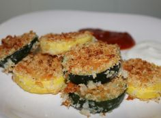 Oven Roasted Parmesan Zucchini and Squash