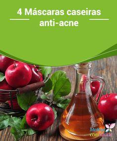 4 #Máscaras caseiras anti-acne   Você não precisa gastar com #produtos caríssimos para #combater a #acne. Conheça aqui algumas receitas simples de máscaras caseiras e eficazes contra ela.
