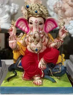Jai Ganesh, Ganesh Lord, Ganesh Idol, Shree Ganesh, Ganesh Wallpaper, Lord Shiva Hd Wallpaper, Shri Ganesh Images, Eco Friendly Ganesha, Clay Ganesha