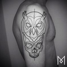 Minimalist Single Line Tattoos By Iranian-German Artist (55  Pics)