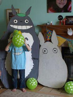 Totoro themed birthday party