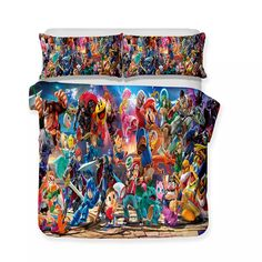 New Arrival bedding sets – Page 24 – Mr Koala 3d Bedding Sets, Linen Bedding, Comforter, Bed Covers, Pillow Covers, Retro Bed, Nintendo, Game Themes, Duvet Cover Sizes