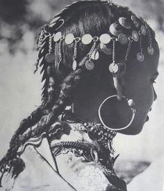 headdress with braids