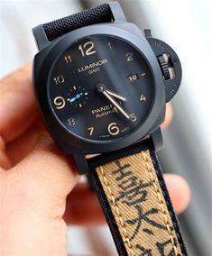 Combat-Straps - CANVAS WW2 $165 Panerai Radiomir, Panerai Watches, Breitling Navitimer, Tudor Black Bay Bronze, Alpina Watches, Panerai Luminor Submersible, Panerai Straps, Vintage Rolex, Luxury Watches For Men