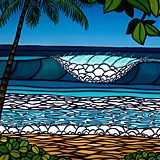 """""""SURF ART"""" Features on Club Of The Waves"""