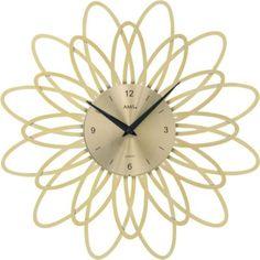 AMS AMS Wanduhr Quarz goldfarben, florales Design in Kunststoff Jetzt bestellen unter: https://moebel.ladendirekt.de/dekoration/uhren/wanduhren/?uid=2ff644d3-5314-5bdf-91eb-30c88fdf9710&utm_source=pinterest&utm_medium=pin&utm_campaign=boards #heim #uhren #dekoration