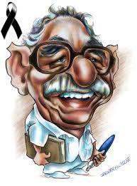 gabriel garcia marquez caricatura