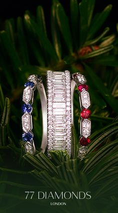 Why stop with one #eternity #ring? Make a #statement and #stack them together for the #ultimate #sparkle. Use ETERNITYXMAS by 31st #December to get #10% off.