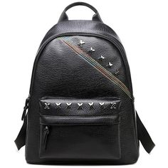 Criss Cross PU Leather Backpack ❤ liked on Polyvore featuring bags, backpacks, backpack bags, fake leather bags, daypack bag, fake leather backpack and vegan leather bags