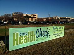 CTMC's annual HealthCheck registration, pre-event blood draws underway. Get $500 worth of health screenings for a low $45 fee. > Central Texas Medical Center