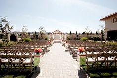 Indian wedding mandap in the Sun Garden at Casa Real: http://www.casarealevents.com  Photo: Tyler Vu Photography