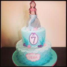 Mermaid cake by Na Furtado Cake Designer Sereia Sirena