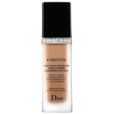 Shop Dior's Diorskin Forever Perfect Foundation Broad Spectrum SPF 35 at Sephora. This fluid foundation color corrects and leaves skin looking refined.
