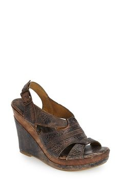 Bed Stu 'Gayle' Wedge Sandal (Women) available at #Nordstrom
