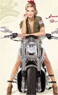 Will American Armed Forces Women Appreciate Harley-Davidson's ... #harleydavidsongirlswoman