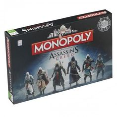 Assassins Creed Edition Monopoly                                                                                                                                                                                 Más