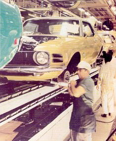 70 Mustang assembly