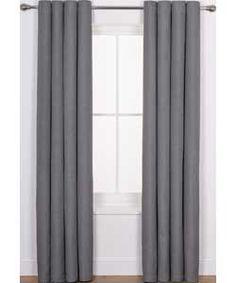 Buy Heart of House Hudson Textured Curtains 116x137cm-Charcoal at Argos.co.uk, visit Argos.co.uk to shop online for Curtains