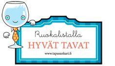 1) Testaa, oletko Tapasankari? 2) Tästä voi ladata ohjekirjan http://www.tapasankari.fi/pdf/tapasankari_kirjanen.pdf