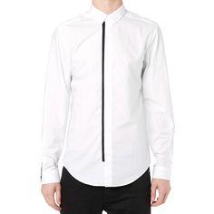 Alexander Wang Webbing Shirt (Bleach White)