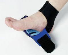 "Cushioned Heel Support, Extra Small by Easier Living. $35.95. Blue and Black. Fits either side.. Fits women's shoe sizes 5-7, men's shoe sizes 4-6.. Cloth-covered neoprene sleeve easily fastens with hook-and-loop closures.. Designed to help relieve heel pain.. The Freedom Cushioned Heel Support is designed to help relieve heel pain. Its horseshoe-shaped 0.25"" PPT pad can easily be repositioned to create a universal support for the treatment of heel spurs, Haglund's disease ..."