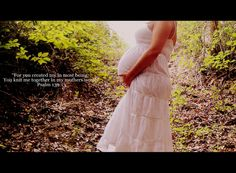 Bible Verse maternity pic