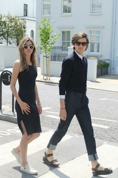 Eleanor and Max  for their new blog The Trend Pair!!!