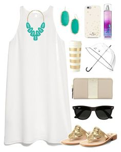 """""""My Contest. You Haven't Entered?! Go Enter Now! {Read D}"""" by preppy-southern-girl88 ❤ liked on Polyvore featuring MANGO, Kendra Scott, Jack Rogers, Kate Spade, Ray-Ban and thepreppypeoplecontest"""