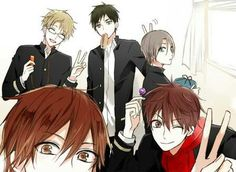 Tsukiuta The Animation, Cute Anime Boy, Anime Boys, Horimiya, Kawaii Anime, Anime Art, Idol, Drawings, Sora