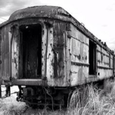 Old train car from the Swamp Rabbit RR