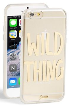 Free shipping and returns on Sonix 'Wild Thing' iPhone 6 Case at Nordstrom.com. Hey, wild thing! If you're looking for a phone case that will make your heart sing, that's impact-resistant and features a rubber bumper inset to protect your iPhone 6, Sonix has got you covered.