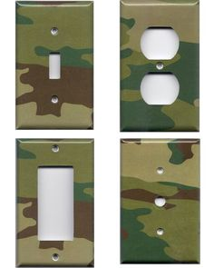 Love these for a boy's camo room