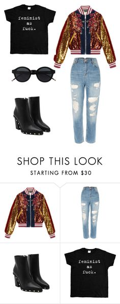 """""""Untitled #2"""" by mdennistoun ❤ liked on Polyvore featuring Gucci"""
