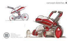 Sketching Samples by Joshua Scranton at Coroflot.com
