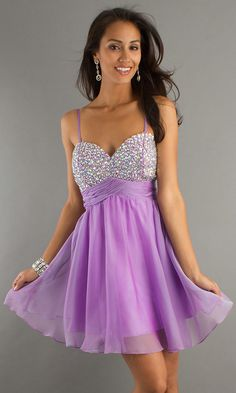 fbff2fdabf Sequin Embellished Ruched Waist Short Sweethert Empire Purple Prom Dresses  www.aubridal.com Prom