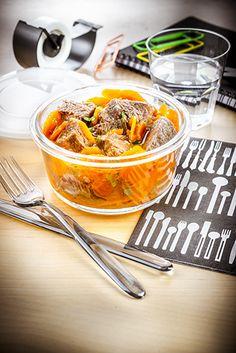 déjeuner au travail recette boeuf carotte à réchauffer companion moulinex lunch…