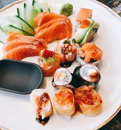 A querer tanto 😍 @sushiamaleiria ♥️♥️👌 -> menu de almoço 🍴 #foodporn