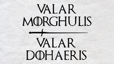 Game of thrones svg Valar Morghulis Valar Dohaeris svg Cut Game Of Thrones Tattoo, Tatuagem Game Of Thrones, Arte Game Of Thrones, Game Of Thrones Quotes, Game Thrones, Dragon Tattoo For Women, Dragon Tattoo Designs, Valar Morghulis Coin, Tattoo Minimaliste