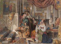 File:John Frederick Lewis - Roman Pilgrims - Google Art Project.jpg