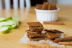 Apple Pie Crackers Grain Free and Nut Free from Healthful Pursuit