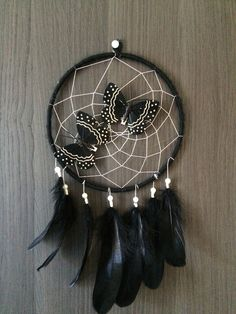 Dreamcatcher Dark Butterfly - 25 €