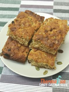 When you need a quick slice but you have no mixed fruit then this Thermomix Seedy Sultana Slice is the perfect dish. Also great as an afternoon tea snack in Tea Snacks, Mixed Fruit, Afternoon Tea, Food Hacks, Banana Bread, Club, Dishes, Breakfast, Recipes