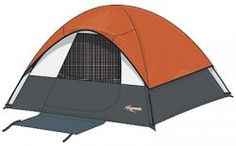 Twin Peaks Sport Dome Tent is strong and durable equipped with shockcorded fiberglass frame with pole pockets for quick set-up. $49.99