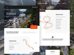 Haute Route | Website Redesign by Tristan Stubbings