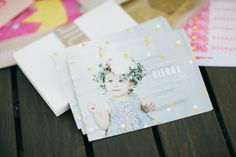 Celebrate your little one's first milestone with a child's birthday invitation designed by Minted's community of global designers.